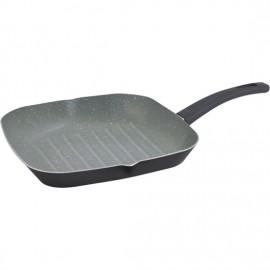 grill 28x28 cm aluminio prensado apta para inducción