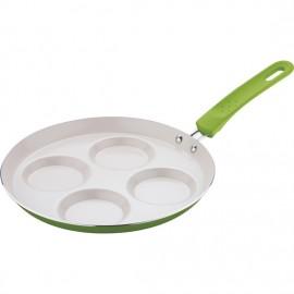 renberg sartén escalfadora de huevos verde
