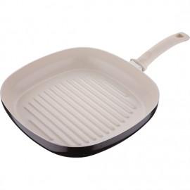 sarten asador de cerámica 28 cm inducción bellini
