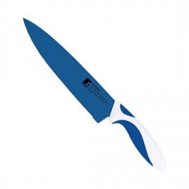 cuchillo chef 20cm cerámico coat azul y blanco