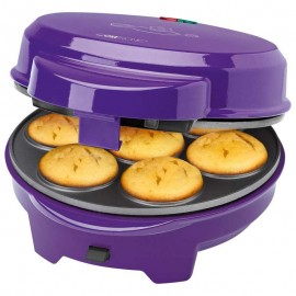 clatronic máquina de hacer donuts muffin y pops cake dmc 3533
