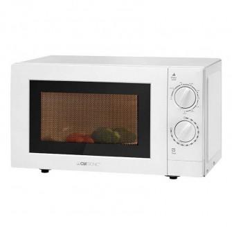 clatronic microondas de 20l con grill mwg 786 color blanco
