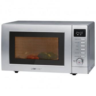 clatronic microondas 20 litros grill mwg787 plata