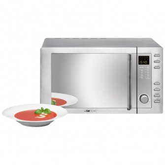 clatronic microondas 23 litros grill c mwg775h