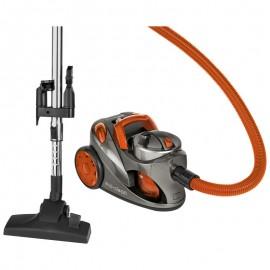 clatronic aspirador bs1294 naranja filtro hepa 700 w