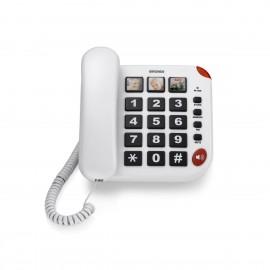 brondi teléfono senior bravo 15 blanco