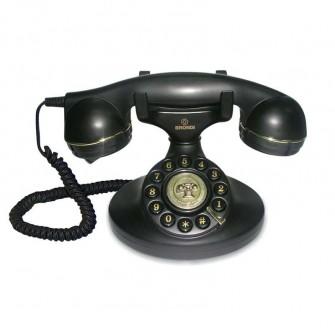 brondi teléfono vintage 10 negro