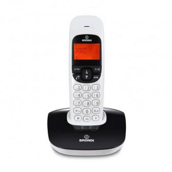 brondi teléfono nice blanco negro