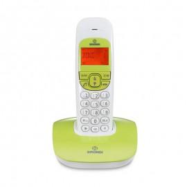 Brondi Teléfono NICE Blanco/Verde