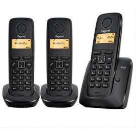 TELEFONO INALAMBRICO GIGASET A120 TRIO NEGRO