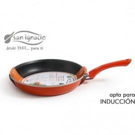 sarten 28cm 12mm soft touch san ignacio mandarina