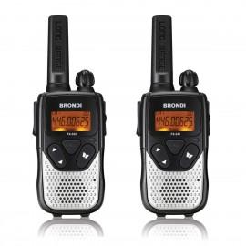 brondi walkie talkie fx 332 negro