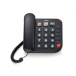 brondi teléfono senior bravo 15 negro